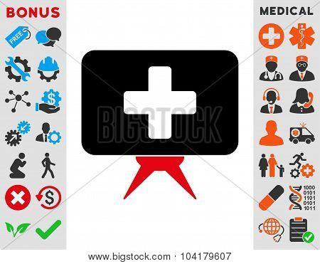 Health Care Presentation Icon