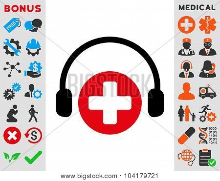 Hospital Call Service Icon