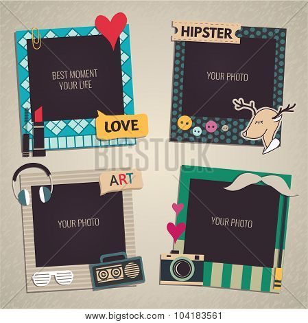 Template Photo frame