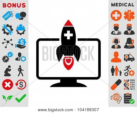 Medical Startup Icon