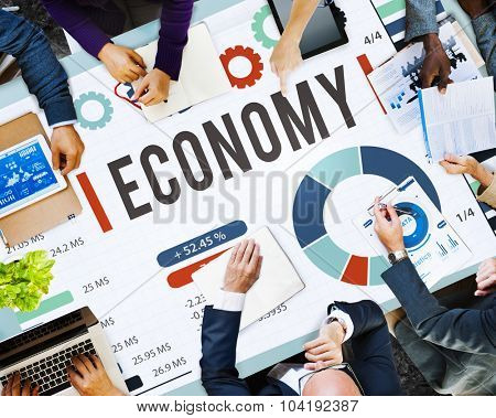 Economy Invesment Financial Money Currency Concept