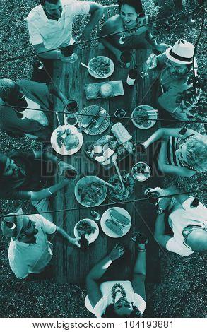 Friends Celebration Cheers Happiness Bonding Concept