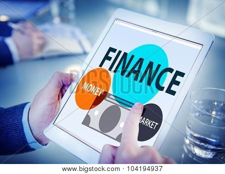 Finance Economy Money Market Financial Concept