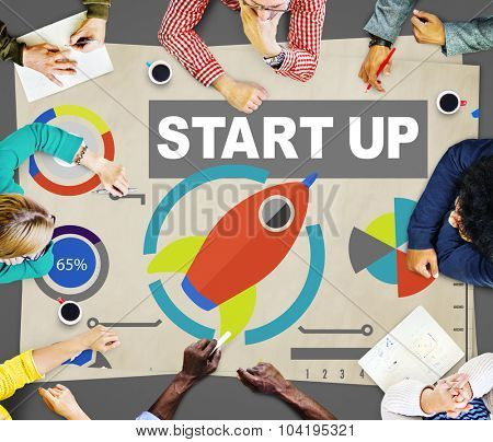 Business Plan Start up Strategy Innovation Vision Creativity Concept