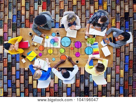 Meeting Corporate Connection Designer Creativity Concept