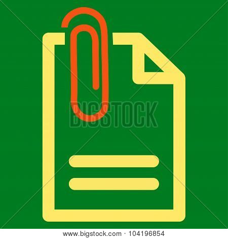 Attach Document Icon