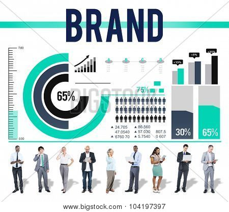 Brand Branding Business Advertising Badge Banner Concept
