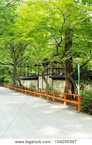 Traditional Temple in the Kyoto, Japan