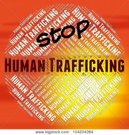 Stop Human Trafficking Shows Forced Marriage And National