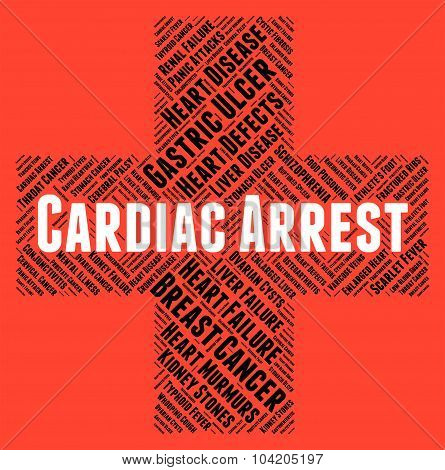Cardiac Arrest Indicates Congestive Heart Failure And Affliction