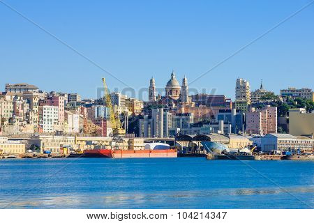 Genoa From The Sea