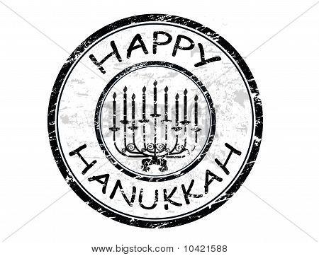 Happy Hanukka Stamp