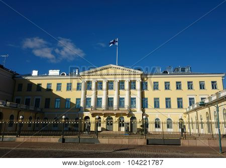 The Presidential Palace in Helsinki, Finland