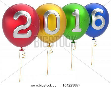 New 2016 Years Eve Party Balloons Christmas Decoration