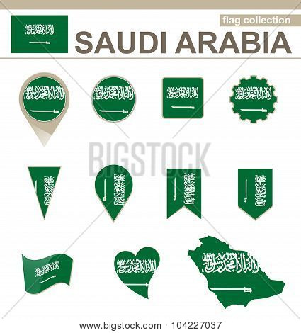 Saudi Arabia Flag Collection