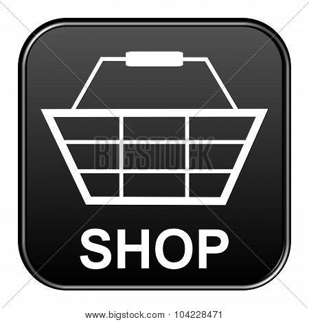 Black Button Showing Shop