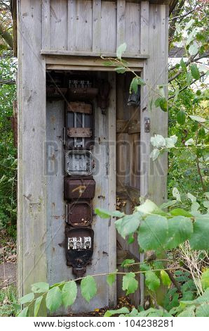 Old Electrical Cabinet