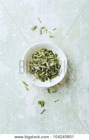 Organic green oats ( avena sativa) for tea