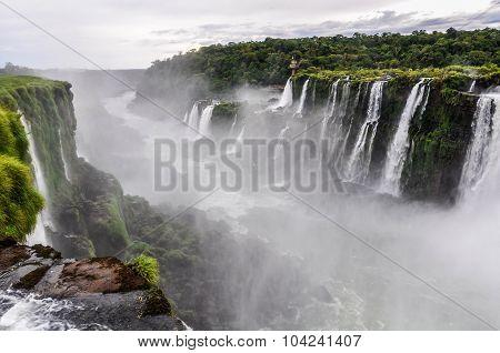 Upper Circuit At Iguazu Falls, Argentina