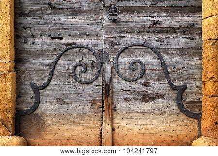 Oldl Wooden Door