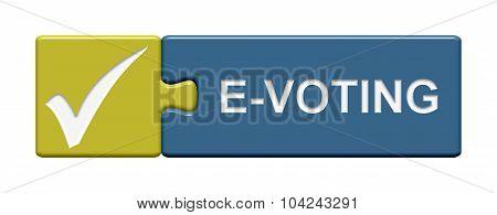 Puzzle Button Showing E-voting