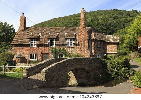 Pretty Cottage In Allerford, Exmoor,uk