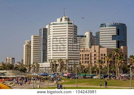 Tel Aviv, high-rise hotels