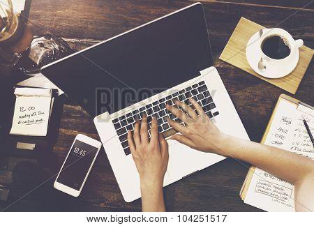 Business Communication Internet Technology Concept