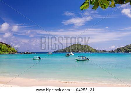 Tropical Beach, Seychelles, Mahe