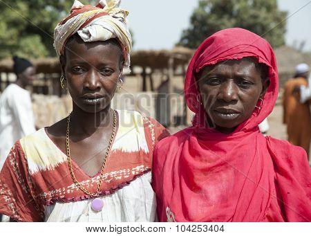 Portrait Of 2 African Women