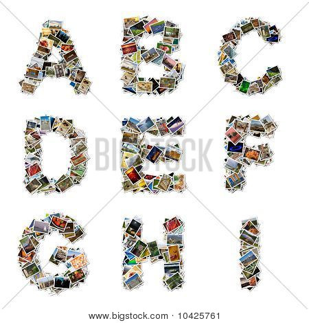 Pictures Alphabet A-i
