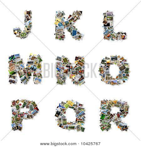 Pictures Alphabet J-r