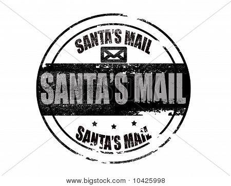Santa,s Mail Stamp