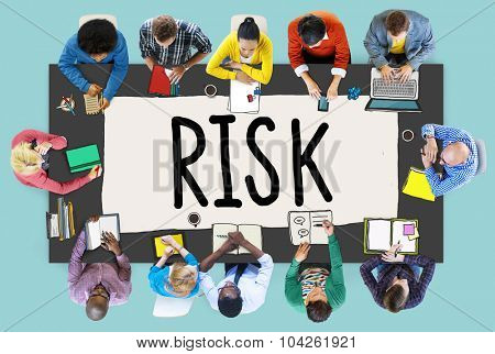 Risk Management Investment Finance Security Concept
