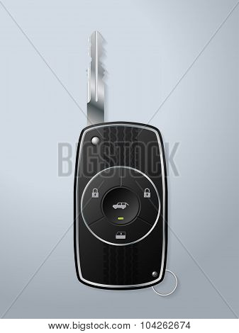 Car Key With Various Remote Functions