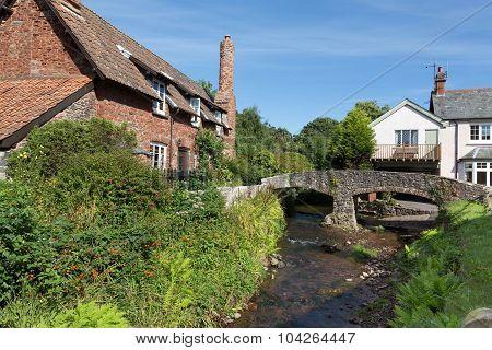 Pretty Somerset Village Scene