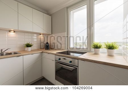Modernized And Spacious Kitchen
