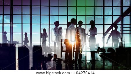 Business People Communication Discussion Corporate Concept