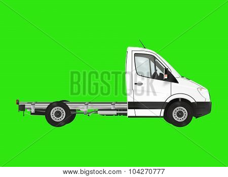 White Modern Van