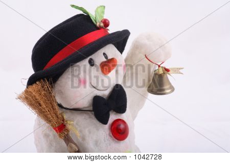 Cute Snowman Doll With Hat