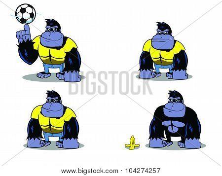 Gorilla in Yellow