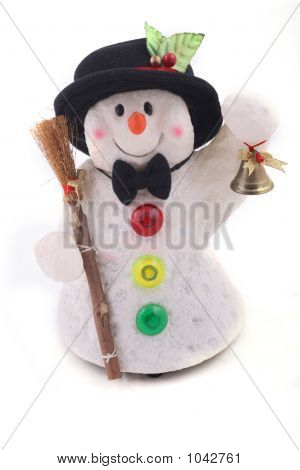 Cute Snowman With Hat