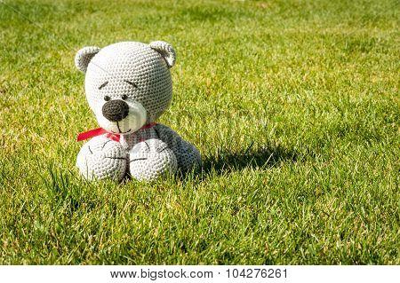Soft Toy - Sitting Bear