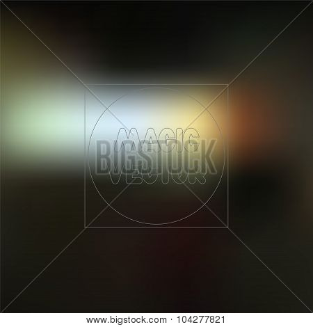 Abstract Blurred Background -stock Vector