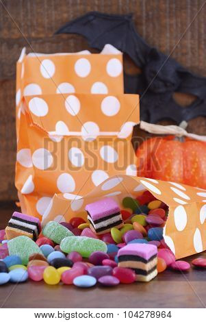 Halloween Candy Trick Or Treat Bags