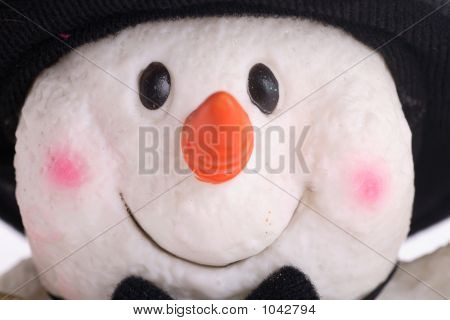 Snowman Happy Face