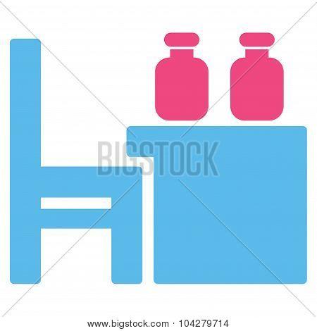 Apothecary Table Flat Icon