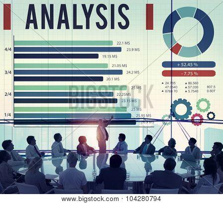 Analysis Information Statistics Strategy Data Concept