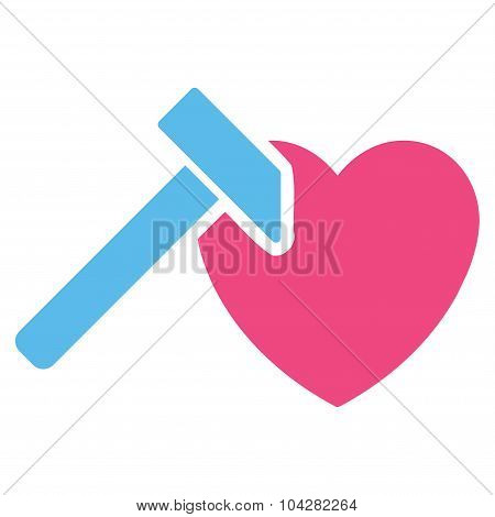 Heart Hummer Icon