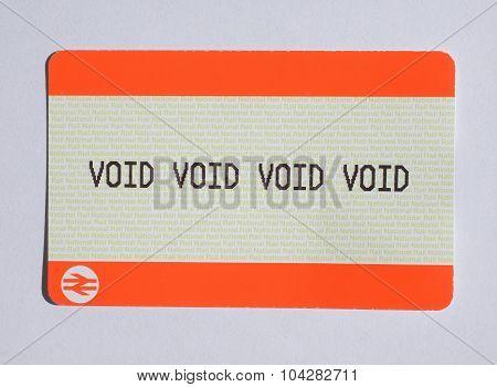 Void Ticket